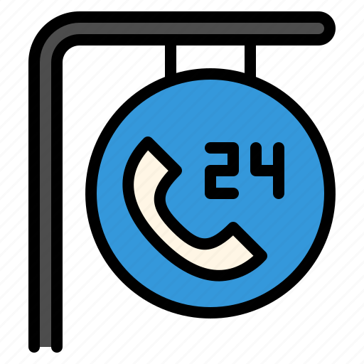 call, customer, hours, phone, service, support icon