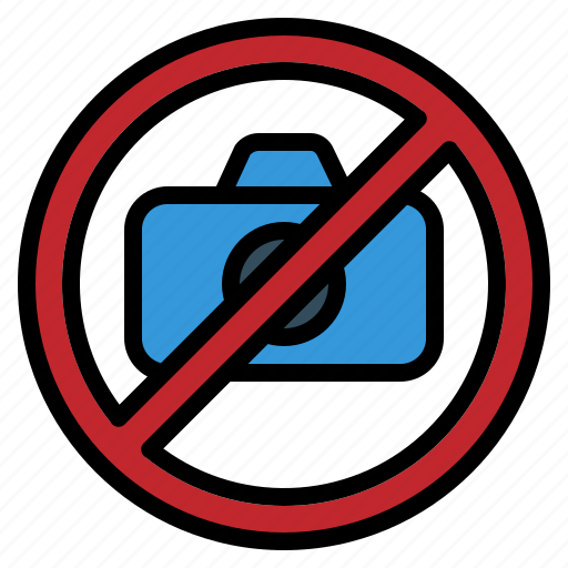 camera, photo, picture, prohibited, sign, stop icon