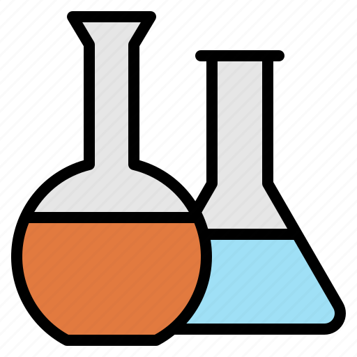 biology, chemical, experiment, flask, hospital, laboratory, test icon