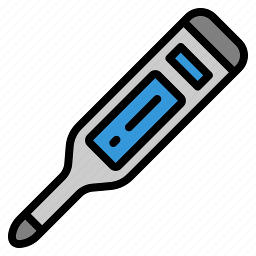 care, fever, hospital, medical, sick, temperature, thermometer icon