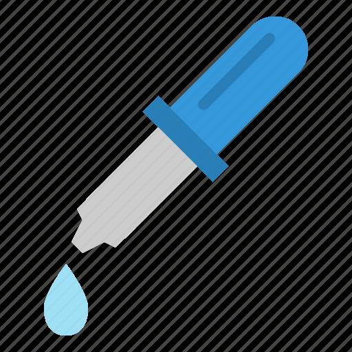 chemical, dropper, hospital, laboratory, medicine, pipette icon