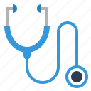 cardiology, diagnosis, doctor, healthcare, hospital, physician, stethoscope icon