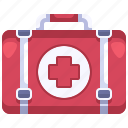 aid, equipment, first, healthcare, hospital, kit, medical icon