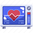 cardiogram, clinic, health, hospital, medical, stats icon