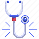 doctor, health, medical, phonendoscope, stethoscope icon