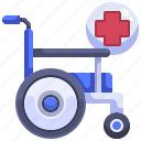 disabled, handicap, transport, transportation, wheelchair icon