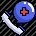 call, care, emergency, health, hospital, phone, receiver