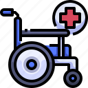 disabled, handicap, transport, transportation, wheelchair icon