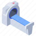 ct scan, ct scanner, hospital services, mri, neurocognitive test, radiology, resonance imaging icon