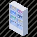 hospital cupboard, hospital setup, lab, laboratory, medicine cabinet icon