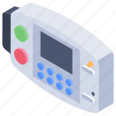 cardiac device, defibrillator, emergency electric shock, medical device icon