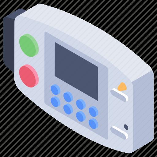 cardiac device, defibrillator, emergency electric shock, medical device icon