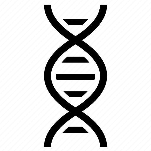 atom, dna, genetics, medicine, molecular, molecule, science icon