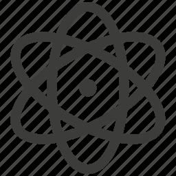 atom, core, electron, energy, molecule, physics, proton icon
