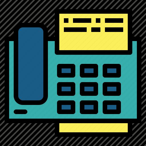 call, fax, phone, telephone icon
