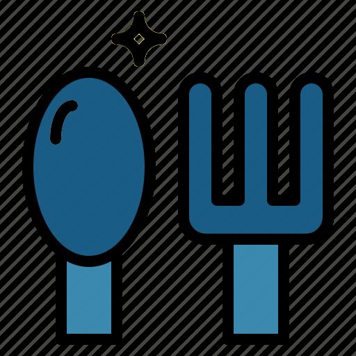 cutlery, dinner, dish, restaurant icon
