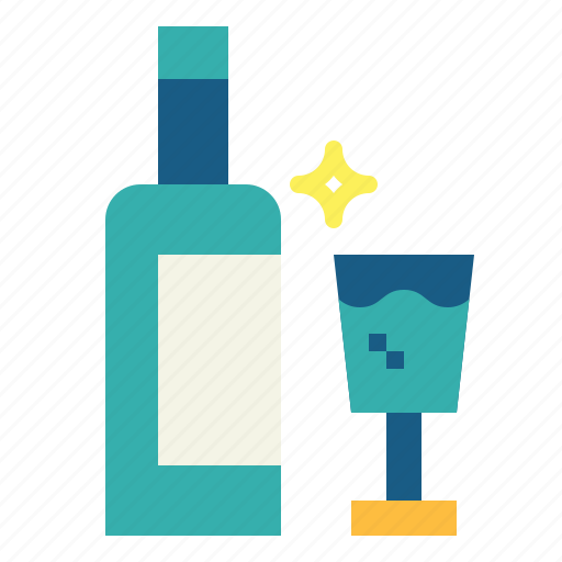 alcohol, beverage, bottles, drink icon