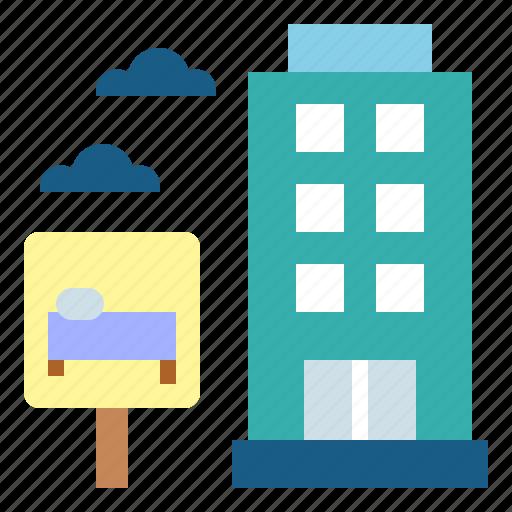 holidays, hostel, hotel, vacations icon