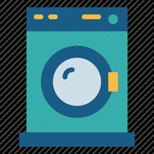 laundry, machine, wash, washing icon