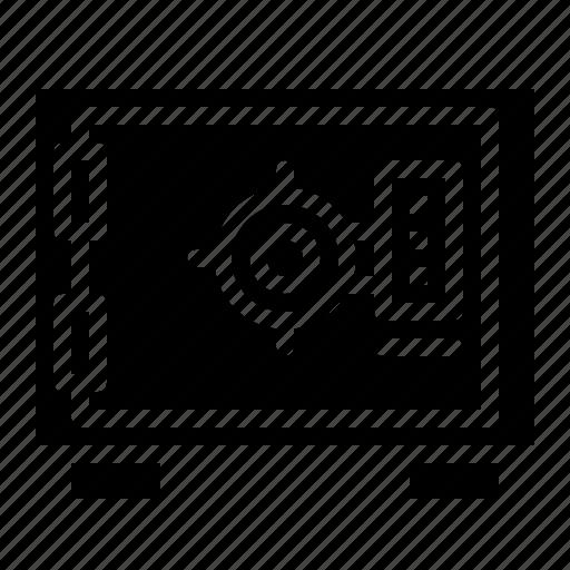 box, safe, savings, security, strongbox icon
