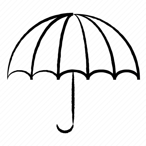 forecast, insurance, protection, umbrella, weather icon