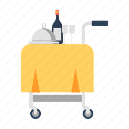catering, food delivery, foodservice, travel icon