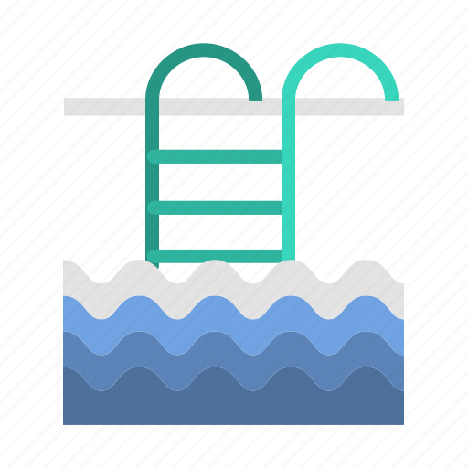 plunge, pool, swimming bath, swimming pool, travel, wading pool icon