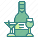 beer, beverage, cocktail, drink, glass, water, wine icon