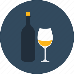 alcohol, alcoholic, celebration, food, party, wine icon
