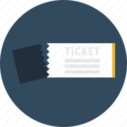 entertainment, pass, show, ticket, tickets icon