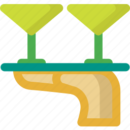 alcohol, beverage, cocktail, drink, drinks, glass, martini icon