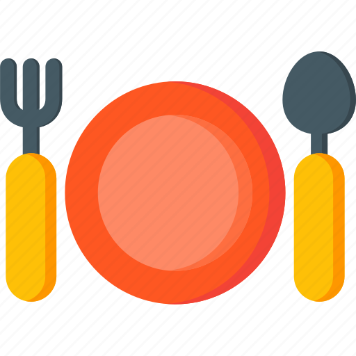 cutlery, dinner, fork, kitchen, restaurant, spoon icon