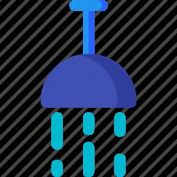 bath, bathroom, clean, hotel, shower, tub, water icon
