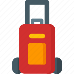 baggage, briefcase, luggage, suitcase, transportation, travel icon