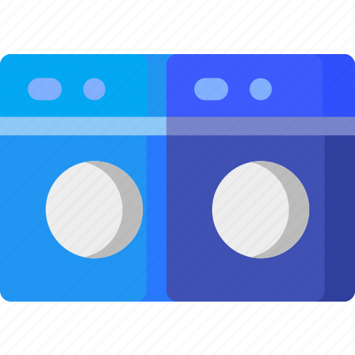 clean, equipment, hotel, laundry, machine, washing icon