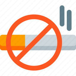 attention, cigarette, forbidden, no, smoke, smoking, warning icon