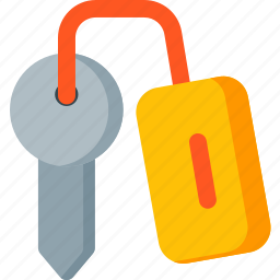 door, hotel, key, protection, safety, security, shield icon