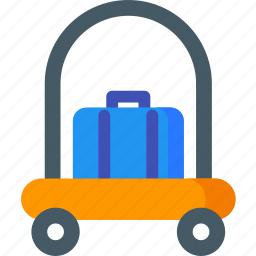 bellboy, customer, hotel, service, services, support icon