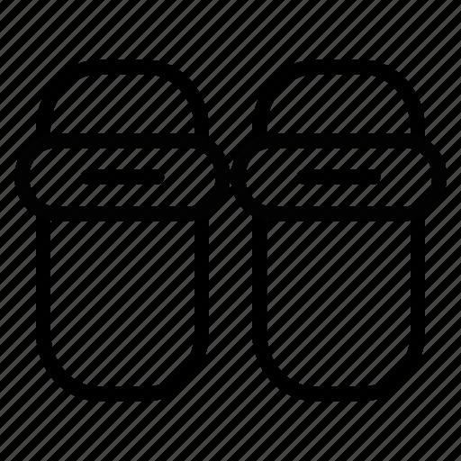 Icon, line, slipper icon - Download on Iconfinder