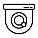 icon, line, cctv, arrow, left, right