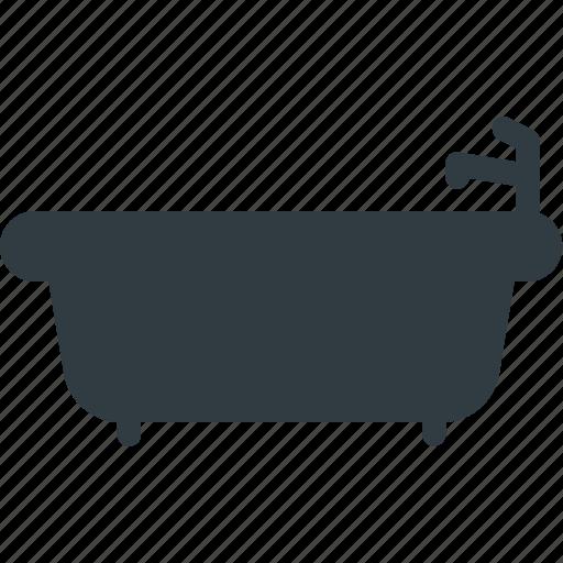 bath, bathroom, cleaning, hot, sefl, tub icon