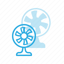 air, conditioner, cooler, electonic, fan, ventilate icon