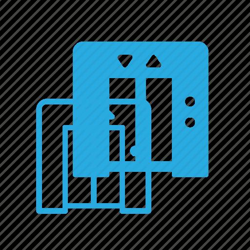 building, door, elevator, hotel, lift icon