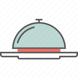 bowl, cooking, cover, dish, food, kitchen, plate icon