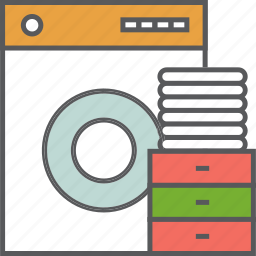 cleaning, clothes, housekeeping, machine, technology, washing, washing machine icon