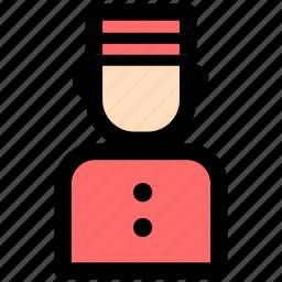 hotel, service, services, waiter icon