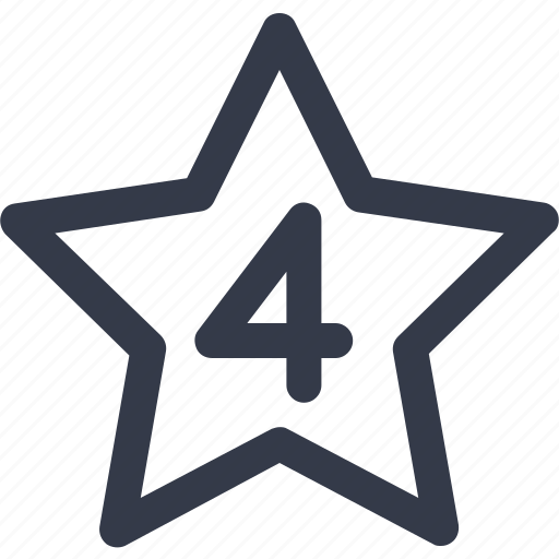 hotel, hotel stars, rating, star icon icon