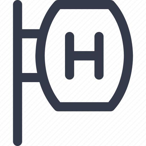 hotel board, hotel location, hotel sign, sign board icon icon
