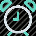 alarm, clock, hotel, time icon icon