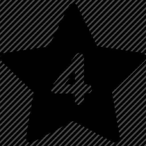 hotel, hotel stars, rating, star icon icon